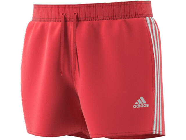 adidas 3S CLX VSL Shorts Hombre, glory red